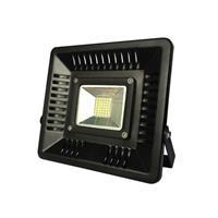 ΠΡΟΒΟΛΕΑΣ LED 50W ΜΑΥΡΟΣ IP65 3000K SLIM