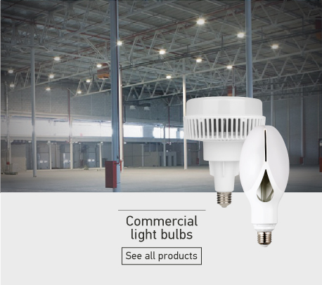 Commercial light bulb