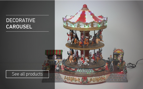 Decorative carousel