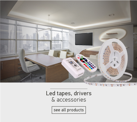 Led tapes, drivers & accessories