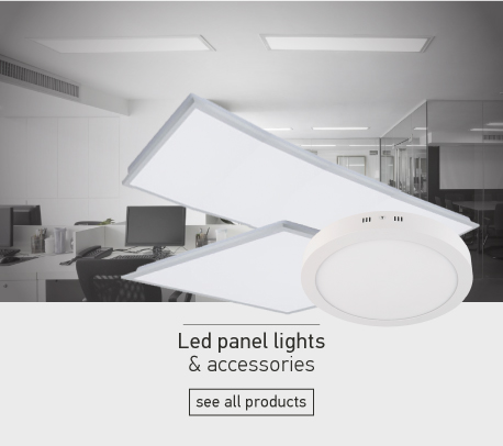 Led panel lights & accessories