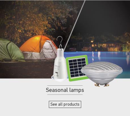 Seasonal lamps