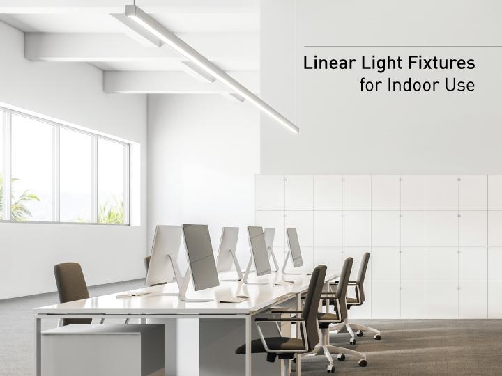 Linear light fixtures