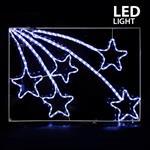 ΜΕΤΕΩΡΙΤΕΣ, ΛΕΥΚΟΙ, LED, 110x75cm, IP44