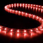 ΦΩΤ/ΝΑ LED, ΜΟΝ/ΛΗ, ΚΟΚΚΙΝΗ, 50m, ΜΕ 30 LED ΑΝΑ ΜΕΤΡΟ ΚΑΙ 6 ΛΕΥΚΑ FLASH LED, ΜΕ ΑΝΤΙΗΛΙΑΚΗ ΠΡΟΣΤΑΣΙΑ, ΚΟΠΗ ΑΝΑ ΜΕΤΡΟ, IP44