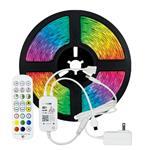 ΤΑΙΝΙΑ LED KIT 5 ΜΕΤΡΩΝ RGB 12V + DRIVER + Wifi CONTROLLER ΜΕ ΜΟΥΣΙΚΗ IP20