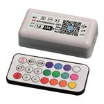 ΑΣΥΡΜΑΤΟ CONTROLLER RF Wifi RGB 12A DC 12V/120W 24V/240W(MAX)