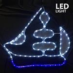 ΚΑΡΑΒΙ, LED, ΜΕ 4m. ΦΩΤ/ΝΑ, 60x51cm, IP44